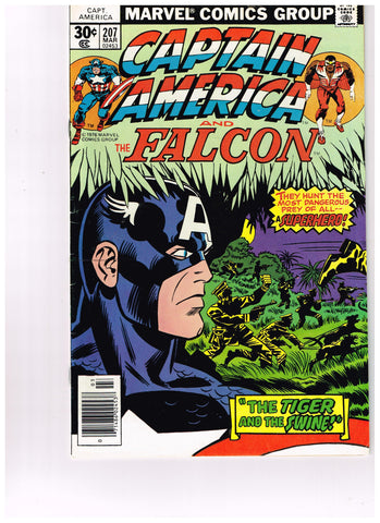Captain America Vol 1 #207