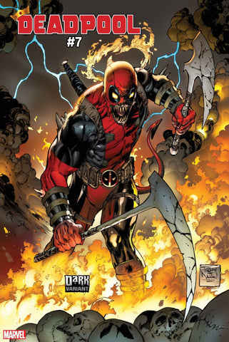 DEADPOOL #7 DANIEL DARK MARVEL VARIANT