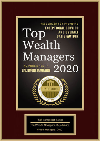 Baltimore Top Wealth Managers 2020