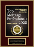 Charlotte Top Mortgage Professionals 2020