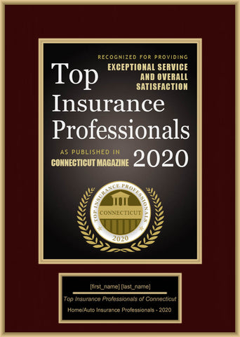 Connecticut Top Insurance Professionals 2020