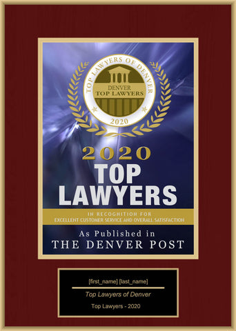 Denver Top Rated Lawyers 2020