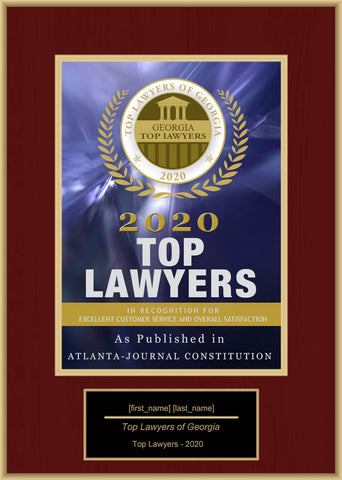 Georgia Top Rated Lawyers 2020