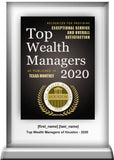 Houston Top Wealth Managers 2020