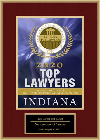 Indiana Top Lawyers 2020