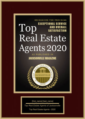 Jacksonville Top Real Estate Agents 2020
