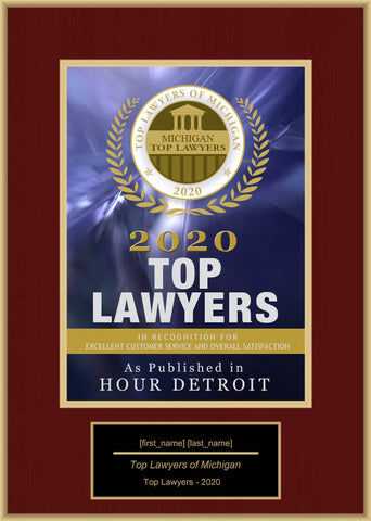 Michigan Top Lawyers 2020