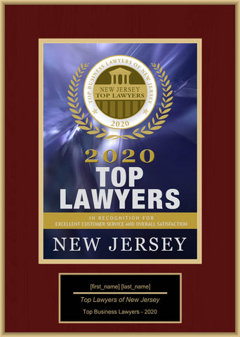 New Jersey Top Business Lawyers 2020