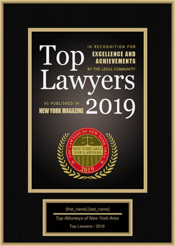 New York Area Top Lawyers