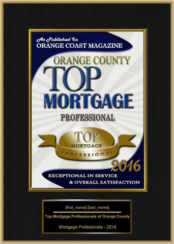 Orange County Top Mortgage Professional