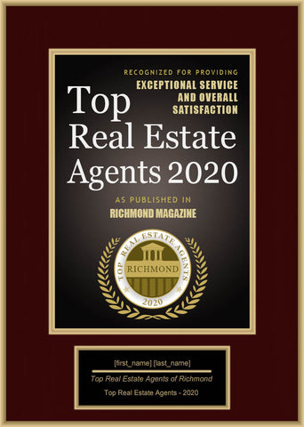Richmond Top Real Estate Agents 2020