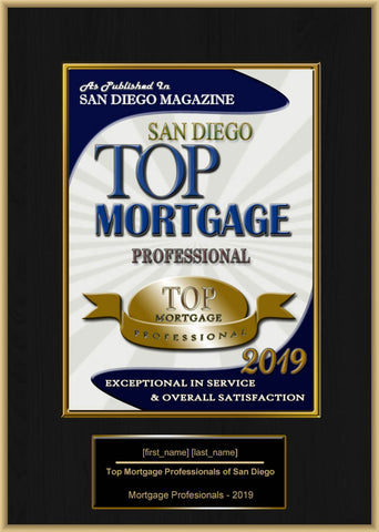 San Diego Top Mortgage Professional