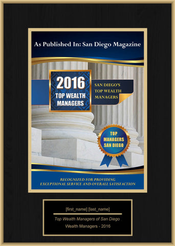 San Diego Top Wealth Managers