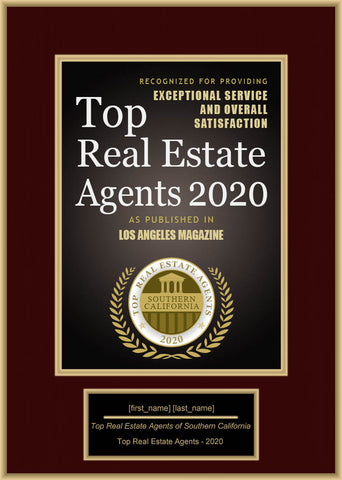 Southern California Top Real Estate Agents 2020
