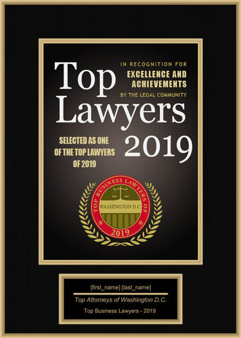 Washington D.C. Top Business Lawyers