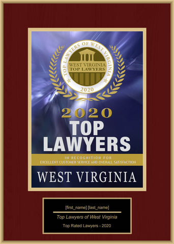 West Virginia Top Rated Lawyers 2020
