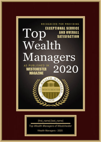 Westchester Top Wealth Managers 2020