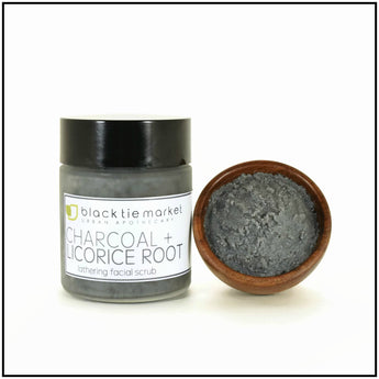 FACIAL LATHER TREATMENT - CHARCOAL+LICORICE ROOT