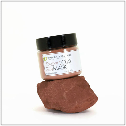 SEDONA CLAY: DESERT GIN FACIAL MASK