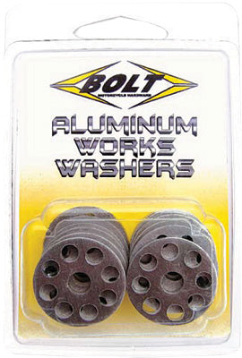 BOLT 10/PK ALU WORKS WASHERS 18MM PART# 2009-AWW.18