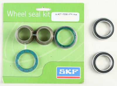SKF 2000 KTM 400 SC WHEEL SEAL KIT W/BEARINGS FRONT WSB-KIT-F008-KTM-HUS