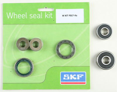 SKF 2000 KAWASAKI KX80 WHEEL SEAL KIT W/BEARINGS FRONT WSB-KIT-F017-KA