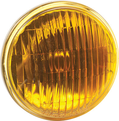 CANDLEPOWER 4 1/2 M/C PASSING LAMP AMBER SEALED BEAM 12V 30W PART# 4415A NEW