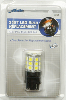 STREETFX LED REPLACEMENT BULB 3157 (WHITE) PART# 1046389 NEW