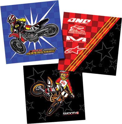 SMOOTH 3 PC MX SUPERSTARS WALL ART PART# 1705-300