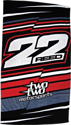 SMOOTH BEACH TOWEL (TWO TWO MOTORSPORTS) PART# 1716-502