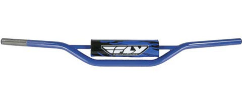 FLY RACING 1010 Carbon Steel Handlebar Kx/Rm (Blue) PART NUMBER MOT-124X-PC-BL