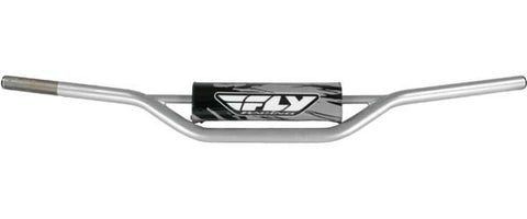 FLY RACING 1010 Carbon Steel Handlebar Honda Cr High (Silver) PART NUMBER MOT-12
