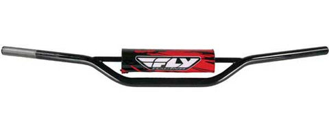 FLY RACING 1010 Carbon Steel Handlebar Kx/Rm (Black) PART NUMBER MOT-124X-PC-BK