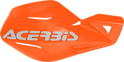 ACERBIS 1972-2005 HUSQVARNA CR 250 UNIKO HANDGUARD 16 ORANGE/WHITE 2041785321
