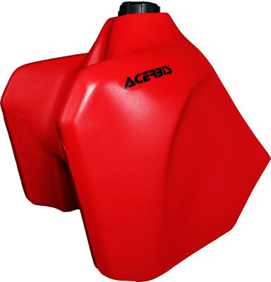 ACERBIS 1993-1996 Honda XR650L FUEL TANK RED W/BLACK CAP 5.8 GAL 2044330229