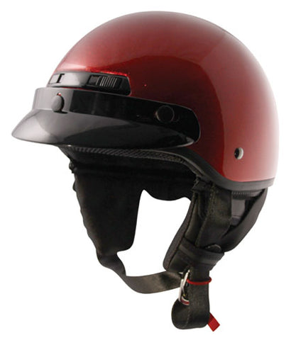 ZOX 86-11076 BANOS METAL FLAKE RED 2XL HELMET