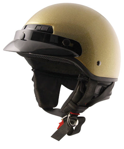 ZOX 86-11095 BANOS METAL FLAKE GOLD XL HELMET