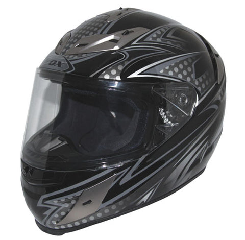 "ZOX 86-63056 ODYSSEY ""RN2' NIGHT WISH BLACK 2XL HELMET"