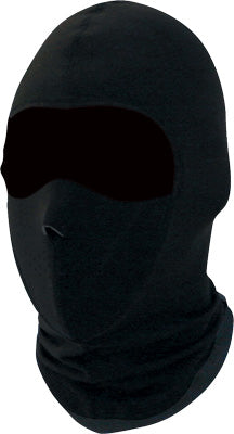 ZAN BALACLAVA COOLMAX W/MASK BLACK PART# WBC114NFM