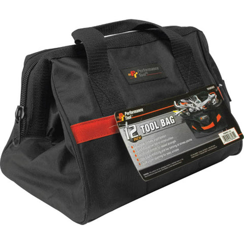 "PERFORMANCETOOL 12"" TOOL BAG W88985"