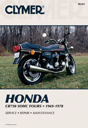 CLYMER 1975-1978 Honda CB750F Super Sport REPAIR MANUAL M341