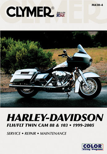 CLYMER 1999-2005 FLH FLT Twin Cam 88 & 103 Harley Davidson M4304 MANUAL H-D TWIN