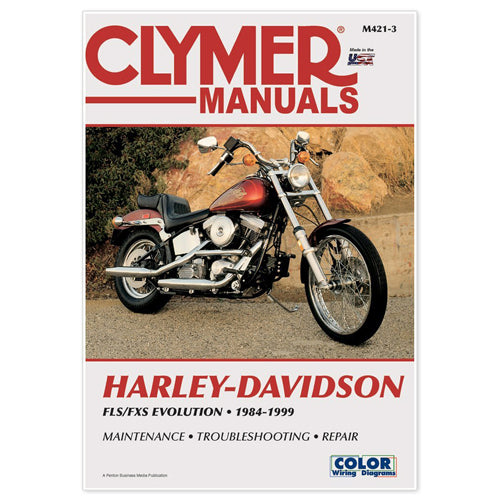 CLYMER 1984-1999 Harley-Davidson FXST Softail REPAIR MANUAL M421-3