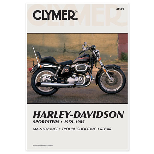 CLYMER 1978-1985 Harley-Davidson XLS1000 1000 Roadster REPAIR MANUAL M419