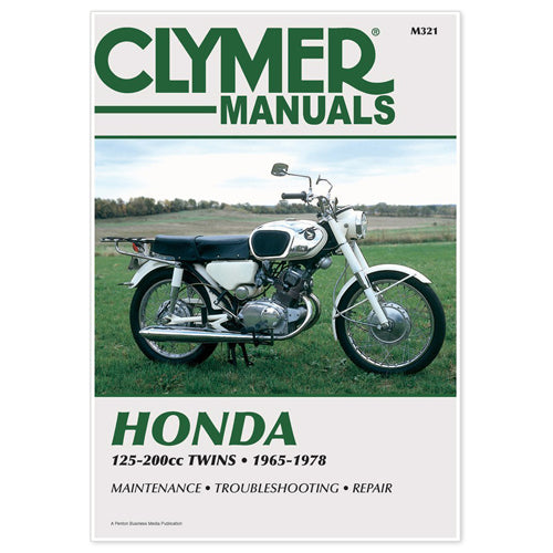 CLYMER 1974-1976 Honda CB200 REPAIR MANUAL M321