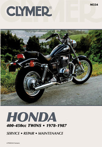 CLYMER 1980-1981 Honda CB400T Hawk REPAIR MANUAL M334