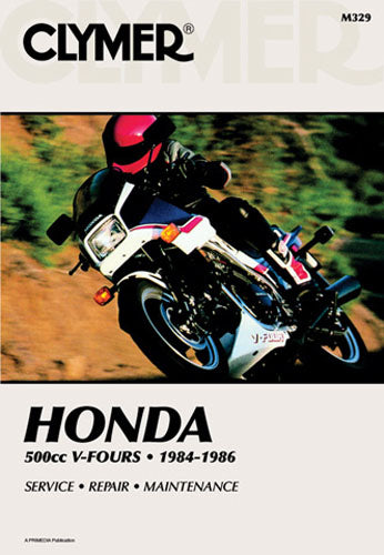 CLYMER 1984-1985 Honda VF500C V30 Magna REPAIR MANUAL M329
