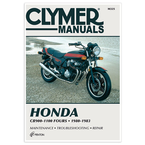 CLYMER 1980-1982 Honda CB900C Custom REPAIR MANUAL M325