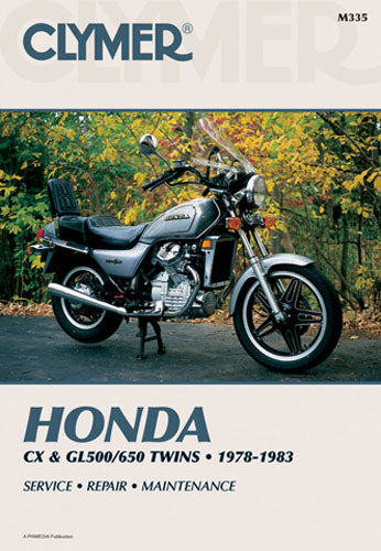 CLYMER 1979-1982 Honda CX500C Custom REPAIR MANUAL M335