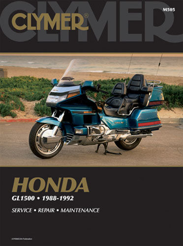 CLYMER 1991-1992 Honda GL1500A Gold Wing Aspencade REPAIR MANUAL M505